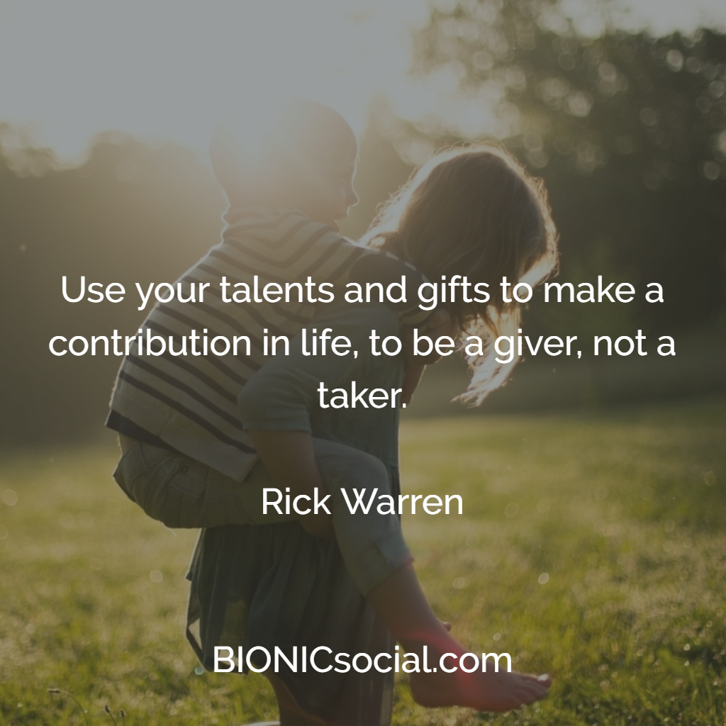 To Be Your Life And Gifts: Use Your Talents And Gifts To Make A Contribution In Life