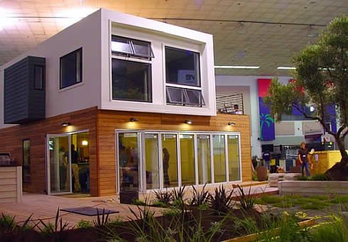Minimalism And Playfulness Defining Residence Made Of Shipping Containers Shipping Container Home Designs Container House Design Storage Container Homes