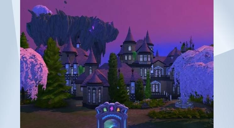 Check Out This Lot In The Sims 4 Gallery Welcome The Magic Hq This Is The One Stop For Learning All Things Magic We Ve Got Class Sims 4 Sims Witch School