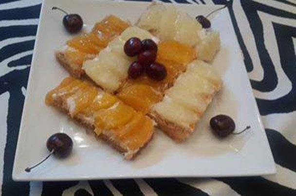 ماأحلاها فى رمضان كنافة بالكريم شانتيه والكمبوت من مطبخ الشيف ريمو Food Breakfast Toast