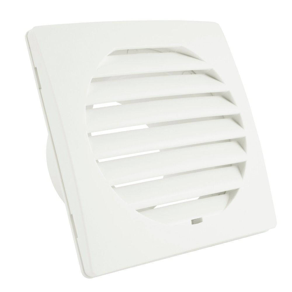 Free Ship Home Square Air Vent Abs Louver Grille Cover