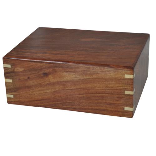Perfect Simple Wood Box Cat Pet 87 cu in Cremation Urn