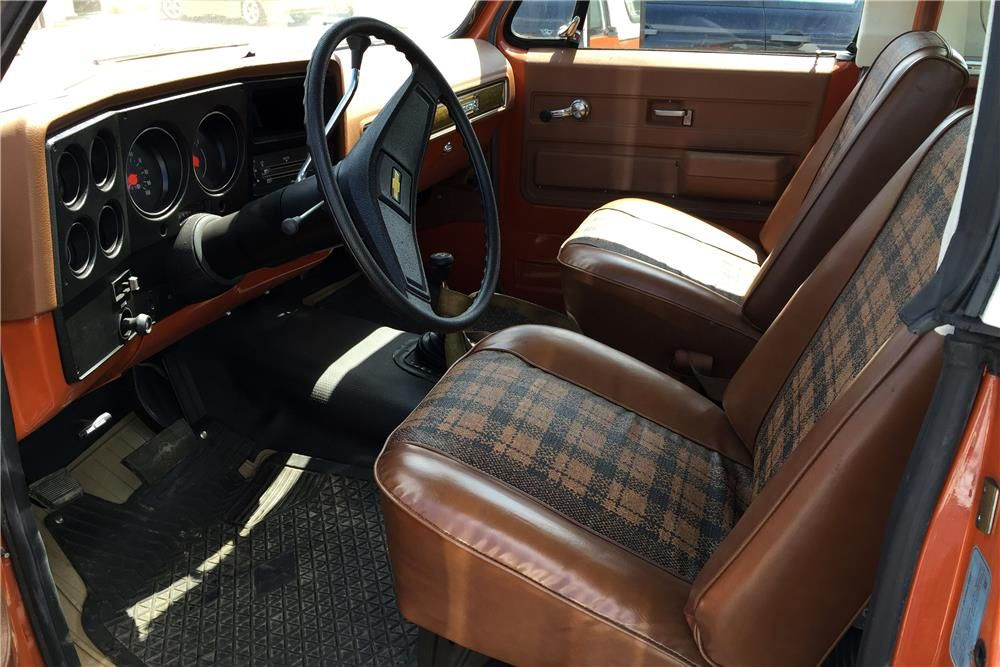 1975 Chevrolet K5 Blazer Interior 187062 Chevrolet Blazer K5 Blazer Chevrolet