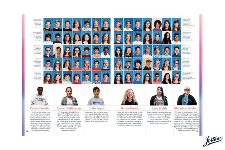 // AMS Yearbook, Atascadero Middle School [CA], Atascadero