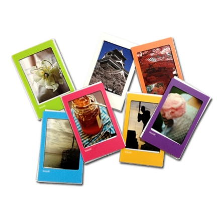 mochithingscom colorful instax mini magnetic frame set