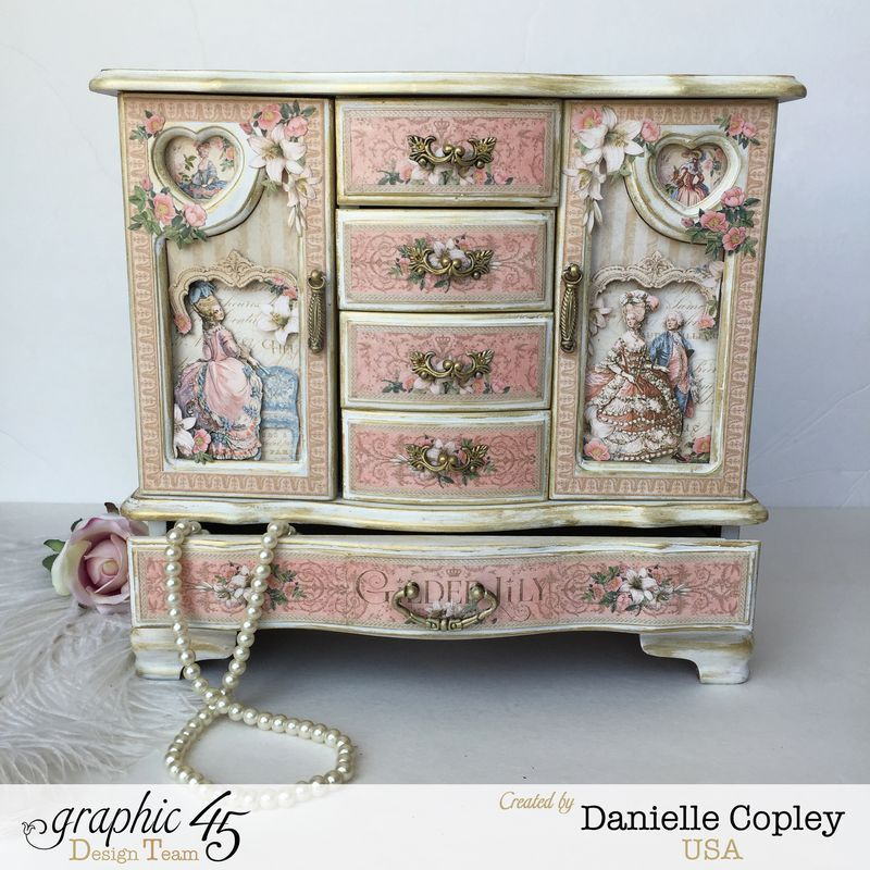 Gilded Lily Jewelry Armoire, Gilded Lily, By Danielle Copley, Graphic 45.  Find This Pin And More ...