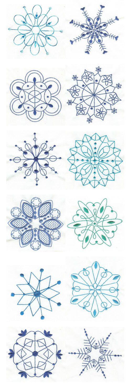 Copos de nieve … | patrones | Pinte…