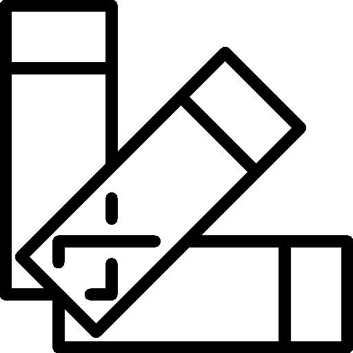 portaobjetos de microscopio iconos vectoriales gratuitos