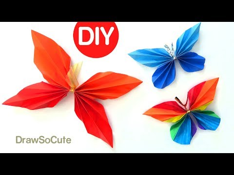 Origami Butterfly (Folding Instructions) - YouTube | 360x480