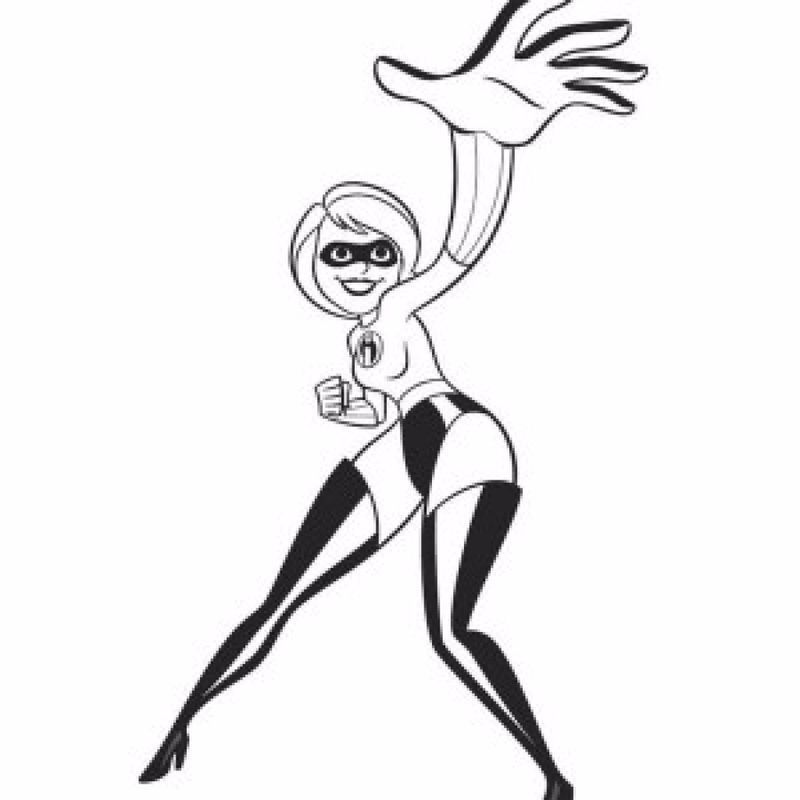 Incredibles 2 Coloring Pages Disney The Parr Family Is Still Unaware Of The Existence Of The Super Coloring Pages Cartoon Coloring Pages Online Coloring Pages