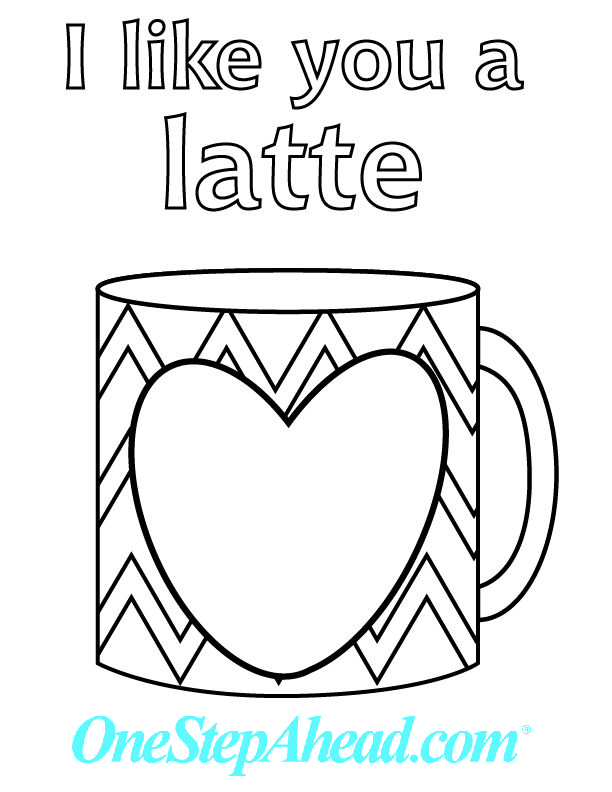 I Like You A Latte For All Your Coffee Lovers Out There Free Kids