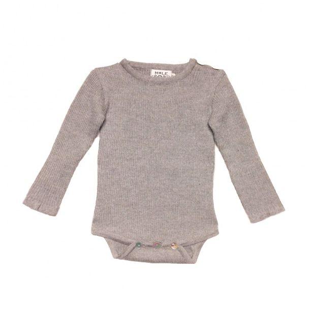 c1de6645 Mole Little Norway Rib Ullbody Beige   Vakre ullklær til barn og ...