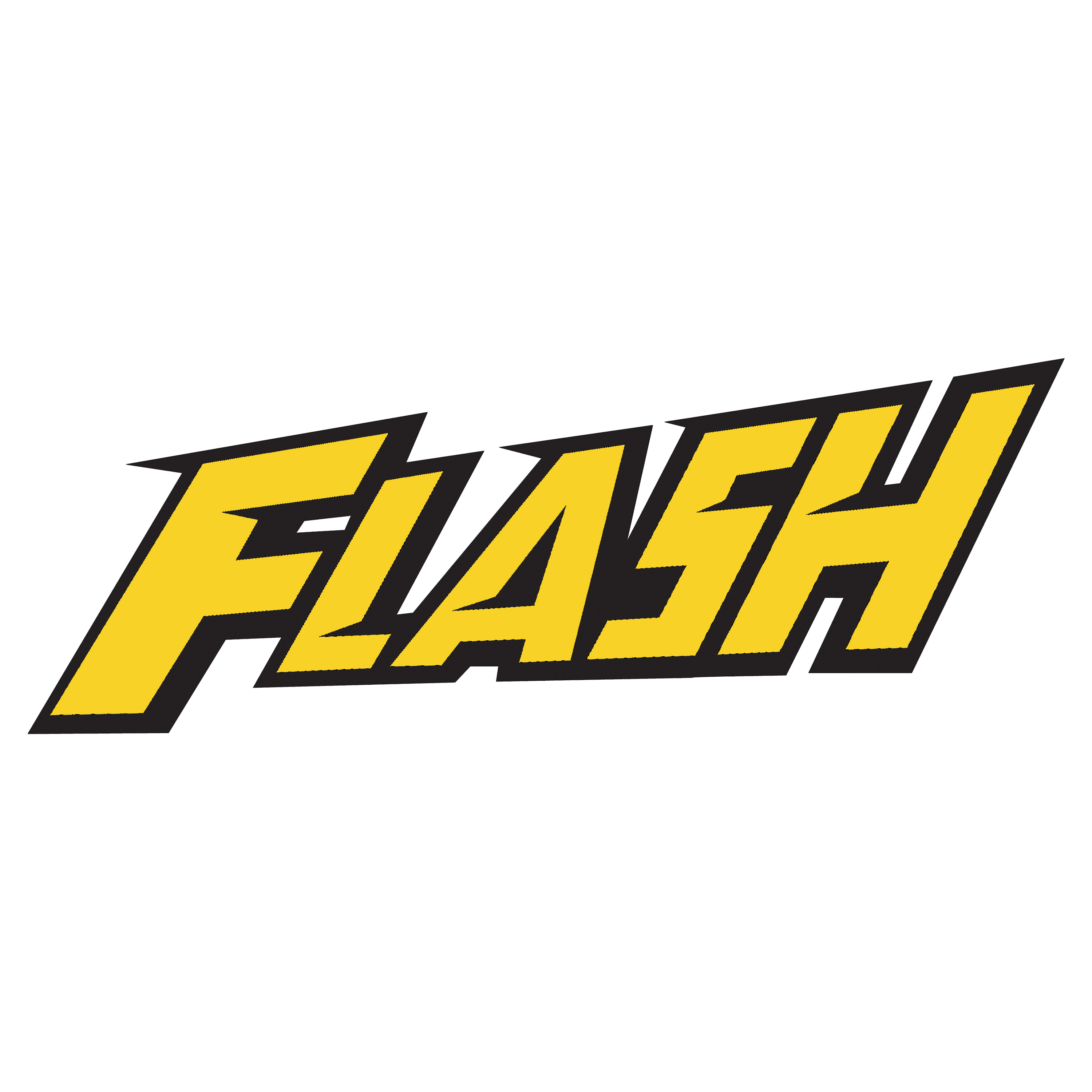 """Flash"" logo Volume 2 (Version 3) recreated with"