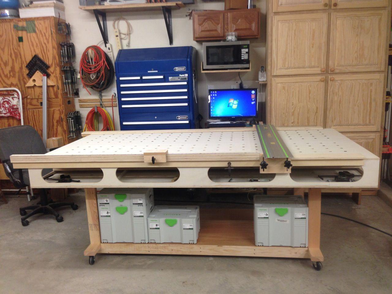 The Paulk Workbench Built By Dennis Workbench Paulk Diy