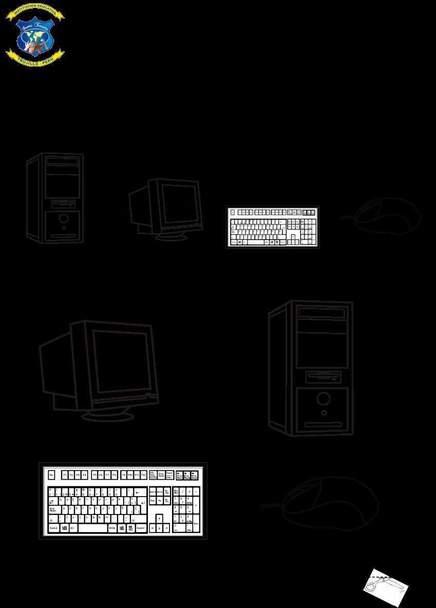 Computación Primaria 1º Práctica 1 Computacion Laboratorio