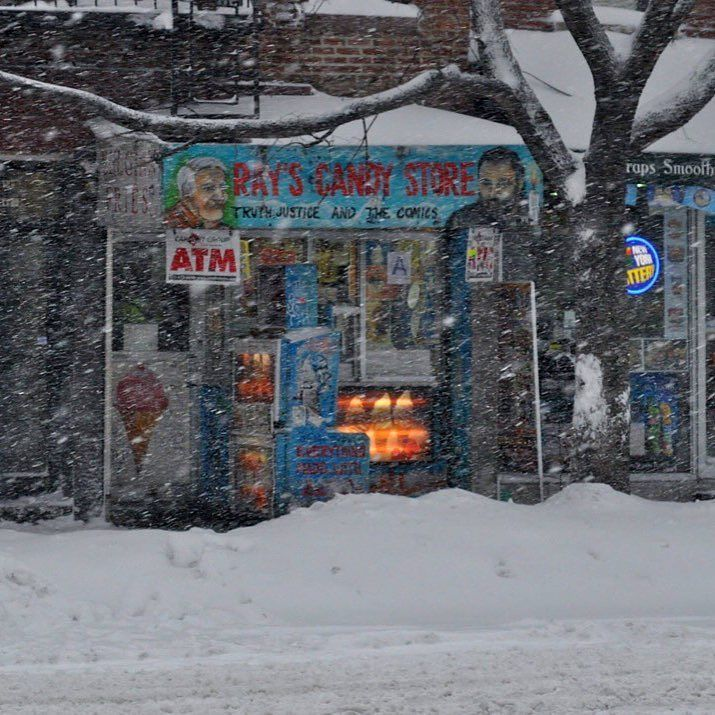 DO YOU REMEMBER THE BLIZZARD OF 2016?!? :-D  Photo by Peter Brownscombe  #rayscandystore #blizzard2016 #alphabetcity #eastvillage #nyc #winterstormjonas #jonas by rayscandystore