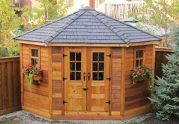 Garden Sheds Canada penthouse garden shed | 9×9 | penthouse garden, penthouses and