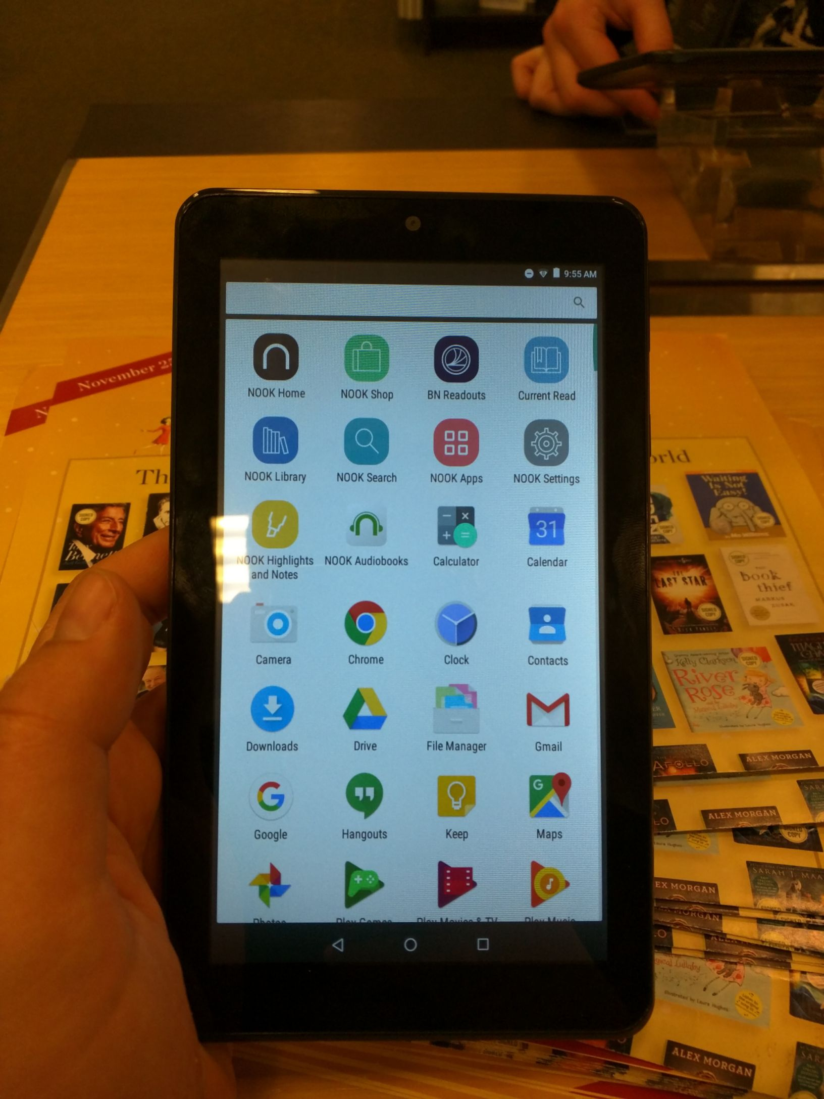 The Nook Tablet 7″ A first look Nook, Google hangouts