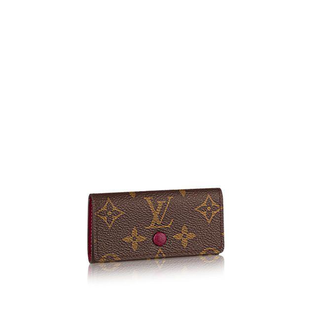 4 Key Holder Monogram Canvas - Small Leather Goods   LOUIS VUITTON