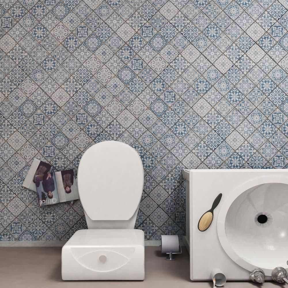Merola tile faenza azul 13 in x 13 in ceramic floor and wall merola tile faenza azul 13 in x 13 in ceramic floor and wall tile dailygadgetfo Images