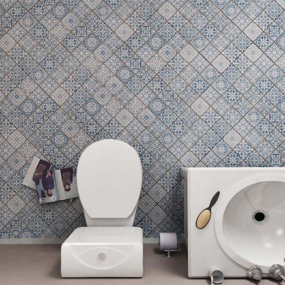 Merola tile faenza azul 13 in x 13 in ceramic floor and wall tile merola tile faenza azul 13 in x 13 in ceramic floor and wall tile dailygadgetfo Images
