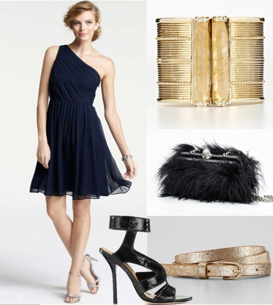 Re-vamped look for your bridesmaid dresses! This particular look is ...