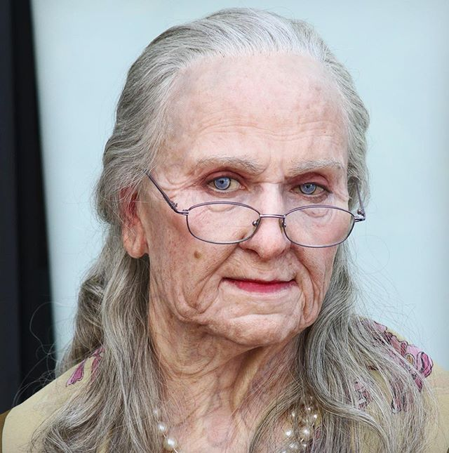 old age prosthetic makeup Google Search Old age makeup