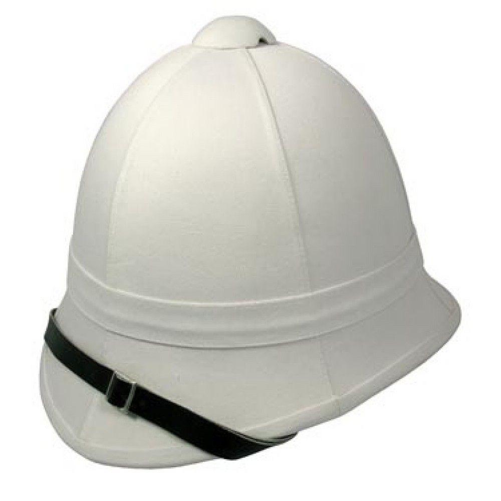 Village Hats British Foreign Service-Zulu War Pith Helmet White