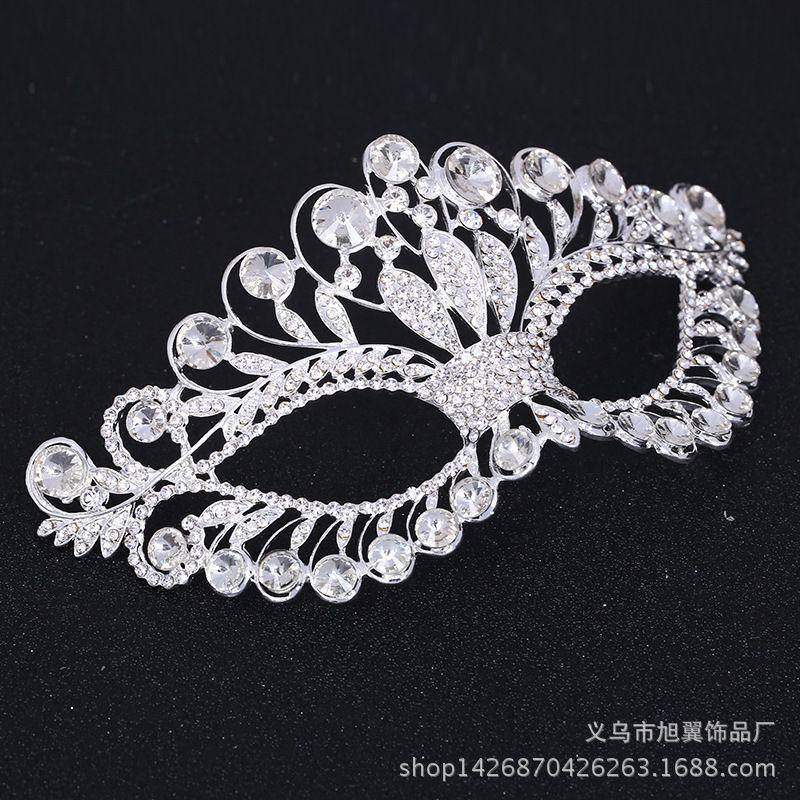 Creative Crystal Princess Mask Halloween Party Supplies Wedding