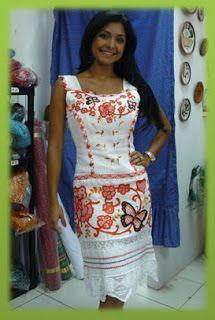 a6d6e5c9ac diseños vestidos estilizados panameños - Buscar con Google