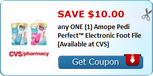 c948bf171  10 Off any One Amope Pedi Perfect Electronic Foot File ( 19.88 at Walmart  after the Coupon!)