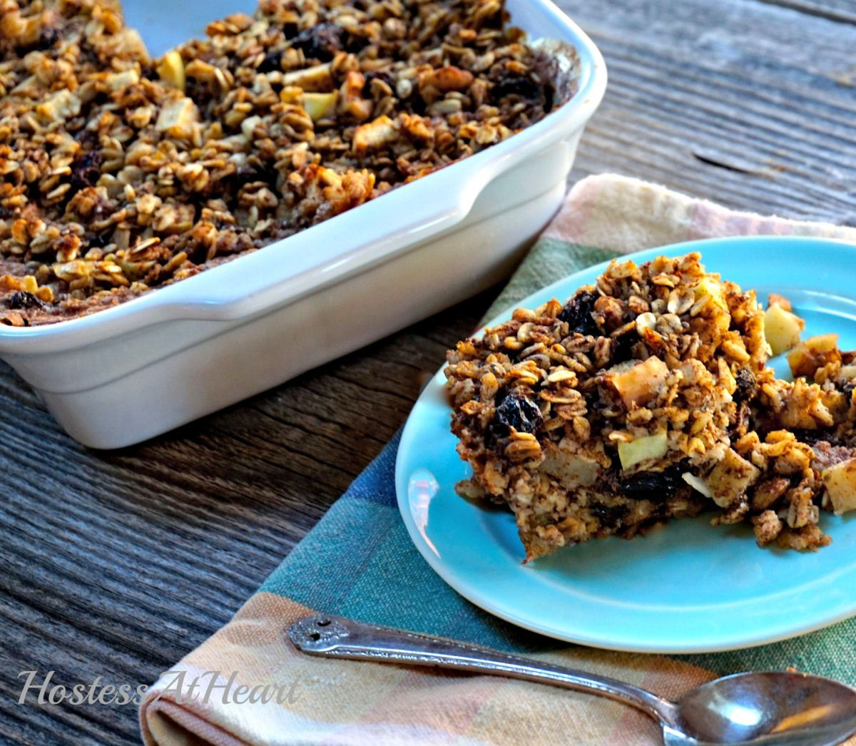 A warm flavorful oatmeal dish that will warm your bones. HostessAtHeart