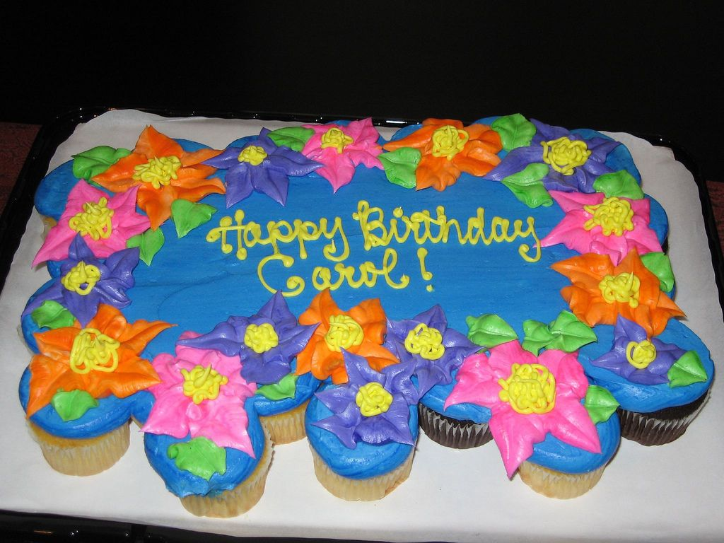 23 Exclusive Image Of Vons Birthday Cakes Carols Cupcake Cake At
