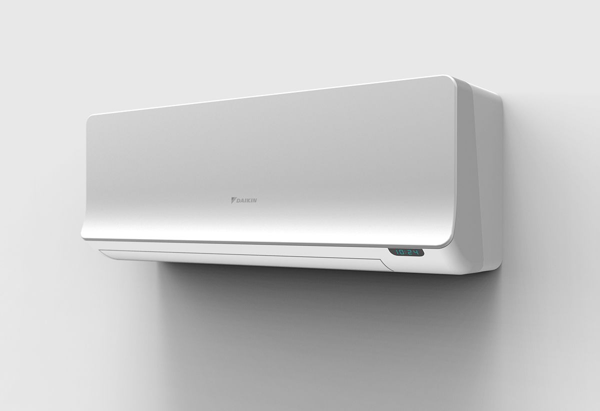 Indoor Air Conditioning For Daikin 2015 On Behance Air Conditioner Design Air Conditioning Design Indoor Air Conditioner