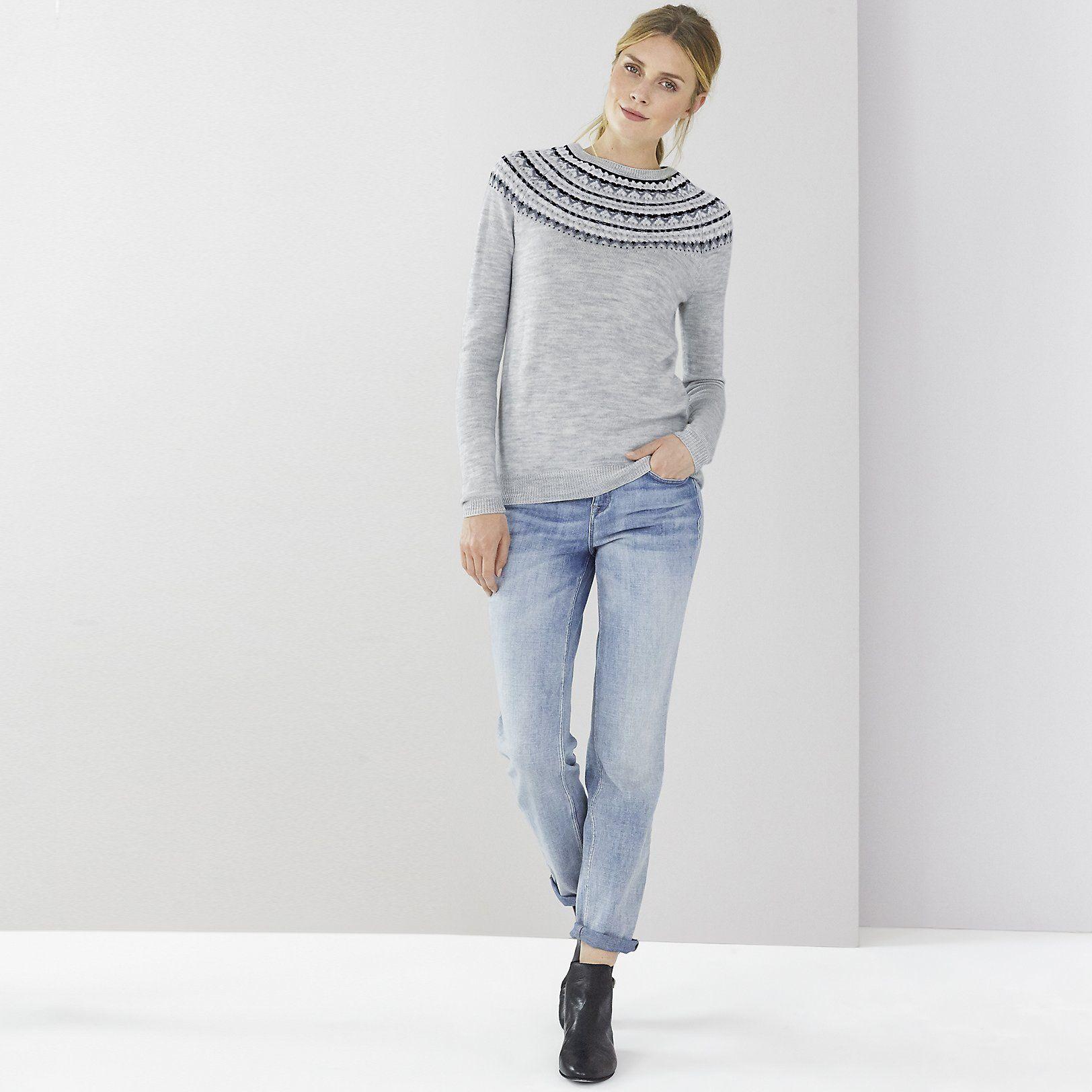 Fairisle Jumper   Jumpers   Knitwear   Clothing   The White Company UK