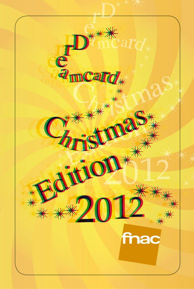 Fnac Contest _Christmas card 2012