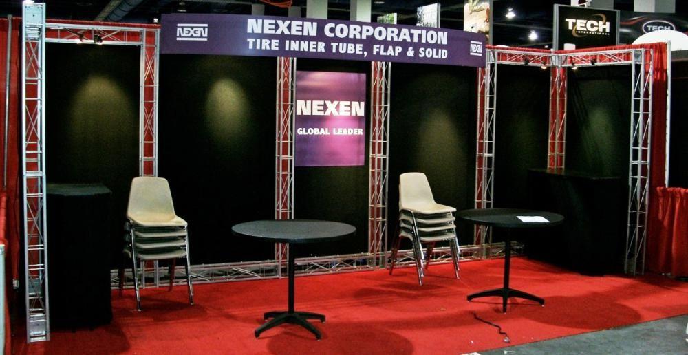 Nexen 10 X 20 Linear Booth Linear Booth Inner Tubes