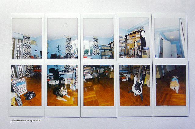 Fuji Instax Mini Panoramas Home