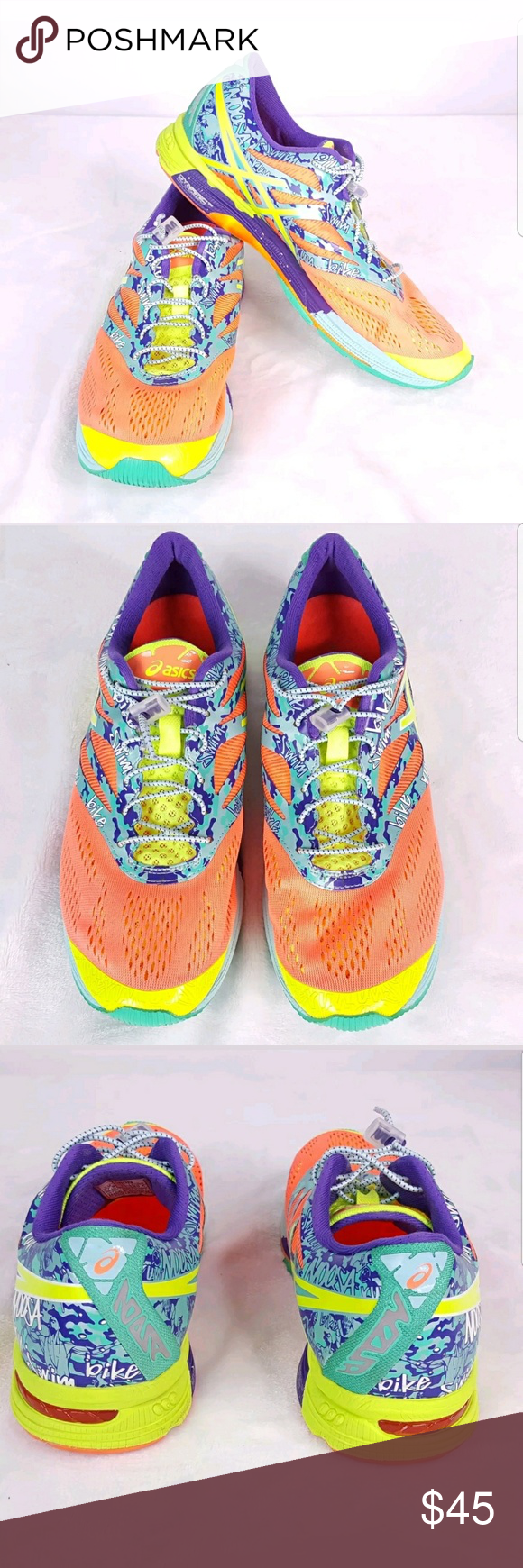 buy online 58a15 f9c73 Asics Gel- Noosa Tri 10 Size 11 Running Shoes Asics Gel-Noosa Tri 10