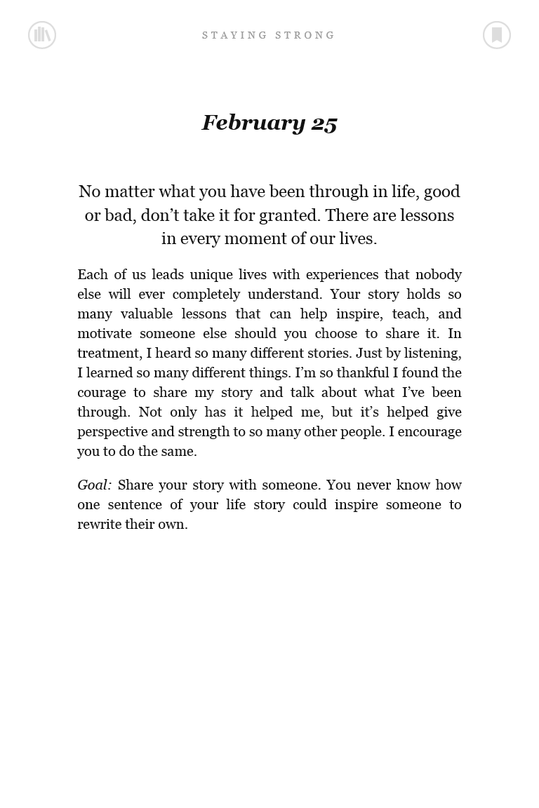 Staying Strong 365 Days A Year Favorite Book Quotes 365 Quotes Demi Lovato Book