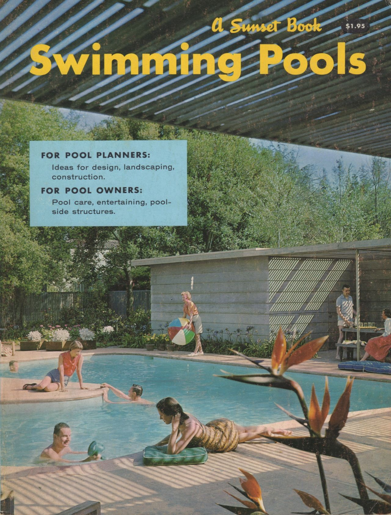 Swimming pools a sunset book lane publishing 1959 for Pool design book