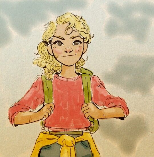 Little Annabeth Going On Adventures Annabeth Chase Percy Jackson