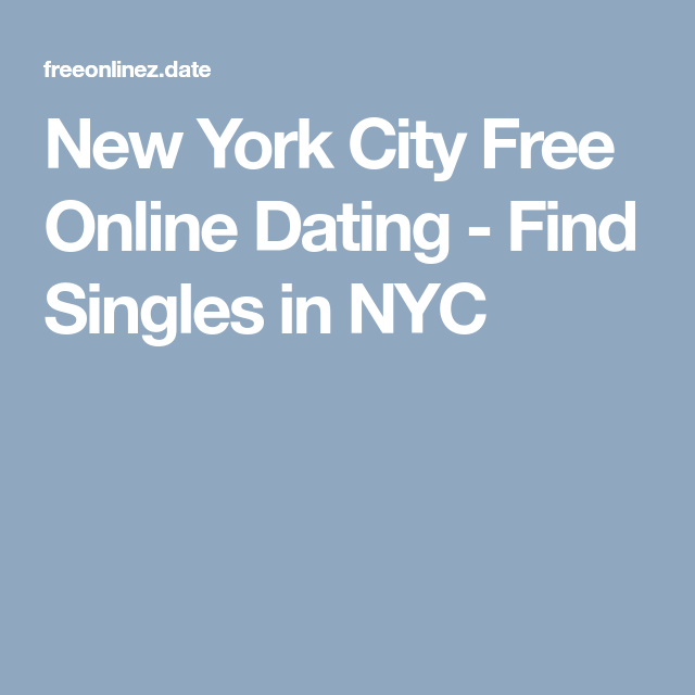 New york city online dating — photo 11