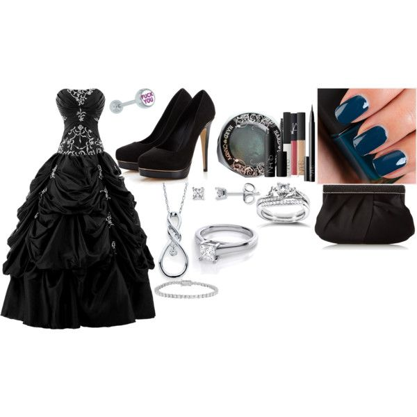 gala by bellalaynecullen on Polyvore featuring Lipsy, Nina, Annello, Allurez, NARS Cosmetics and Hard Candy
