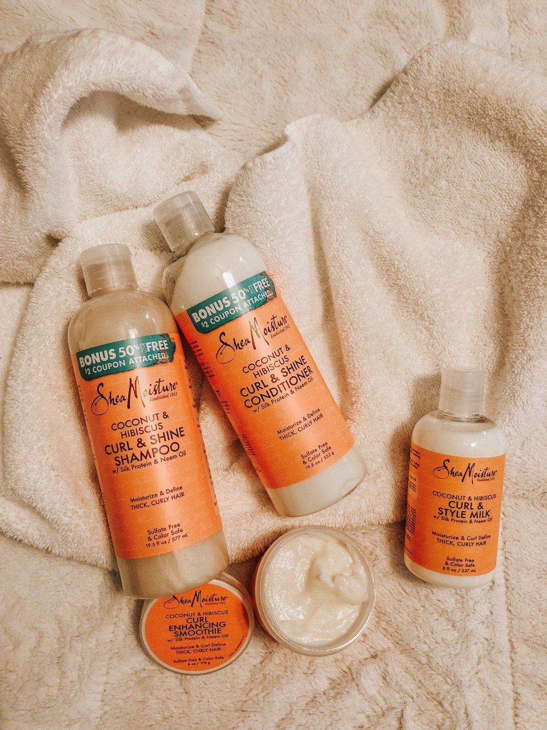 Winter Curly Hair Routine with SheaMoisture and Wal Mart   Shea ...