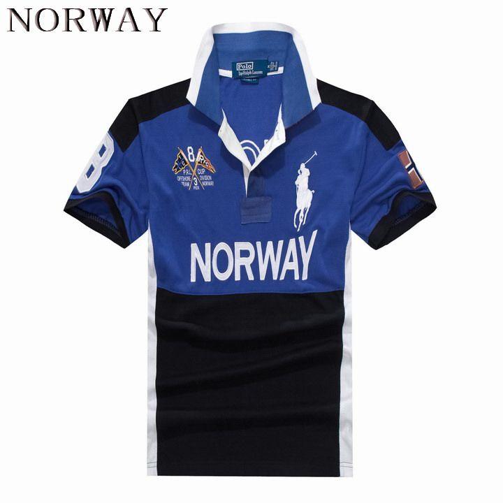 Ralph Lauren Men Country Big Pony Polo Short Sleeve Norway   Nice ... 342b9d7d542c