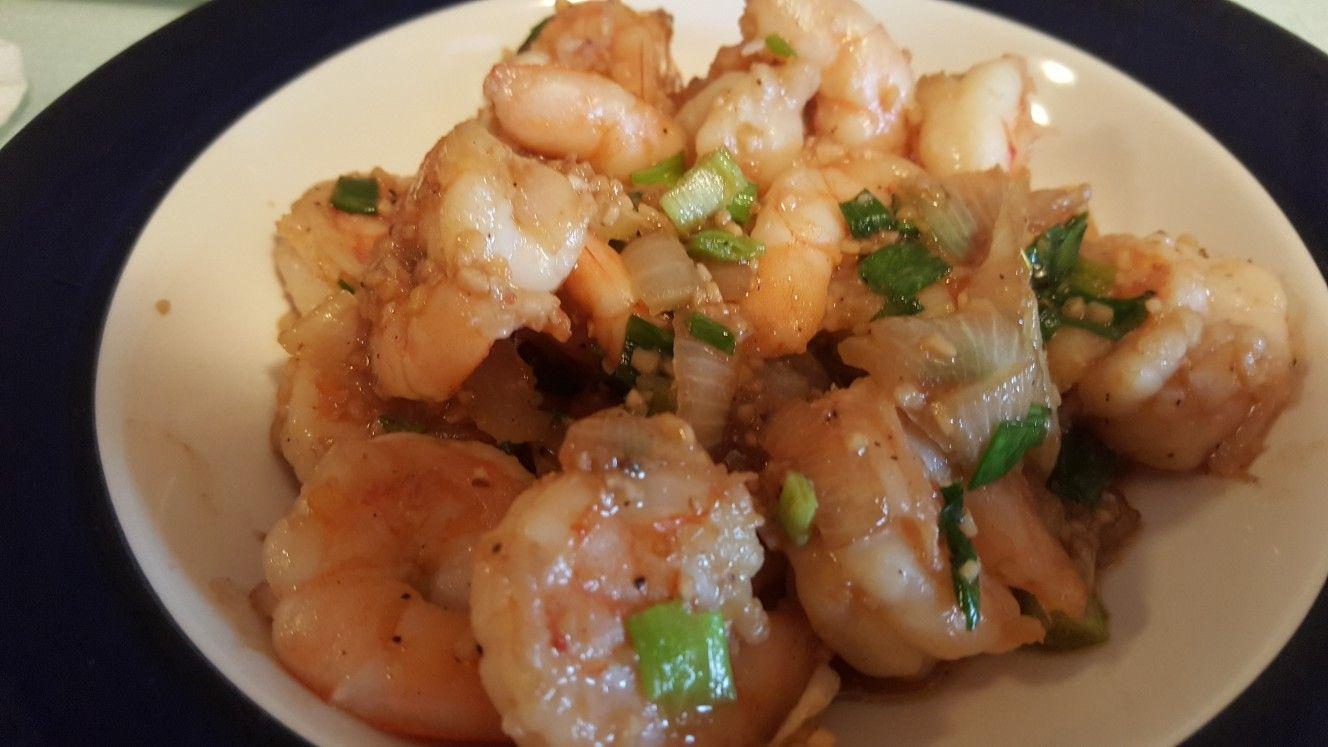 Garlic Shrimp Asian Recipes Eggs Dinner Garlic Shrimp