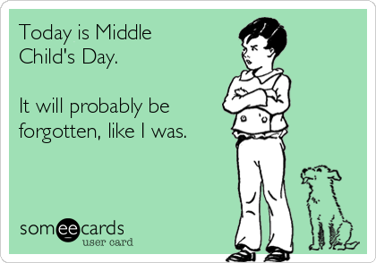 Middle Child Syndrome: It's Real #middlechildhumor