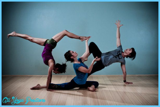 Yoga Poses 3 Person Http Allyogapositions Com Yoga Poses 3 Person Html Yoga For Diabetes Basic Yoga Yoga Poses