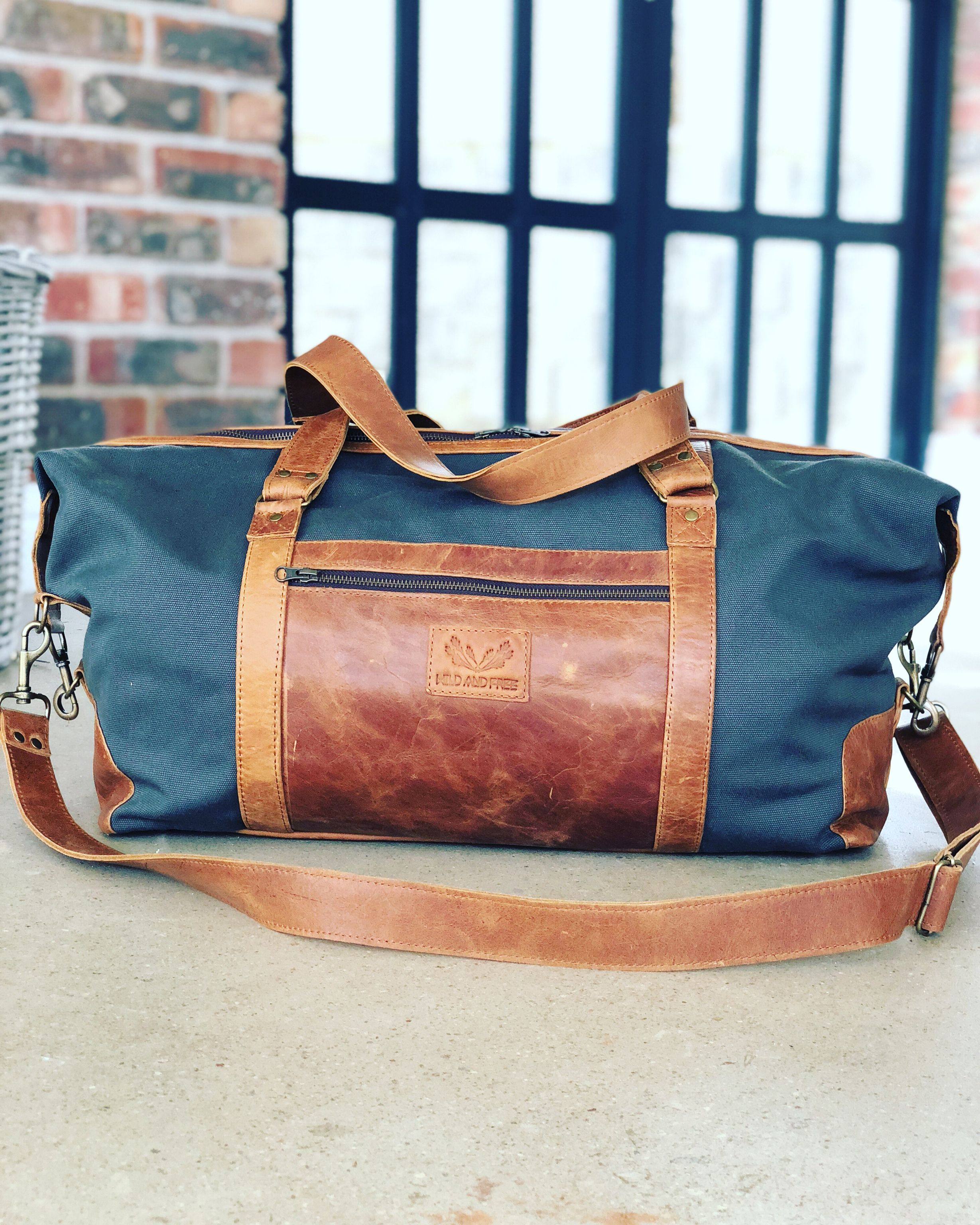 Adventure Canvas and Leather Duffel Bag. Find this Pin and more on Wild    Free ... eded50d6e3c99